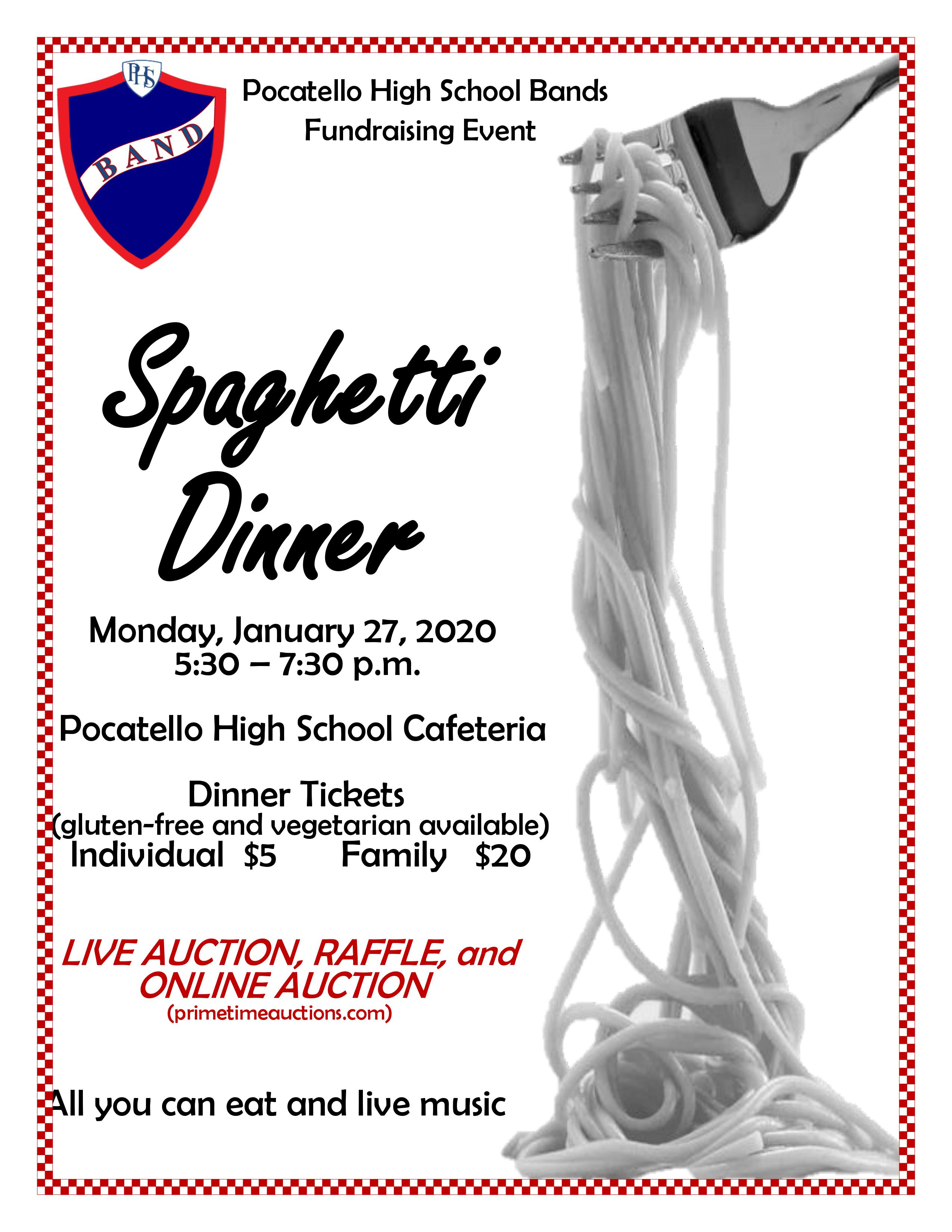 Pocatello High Benefit Poster